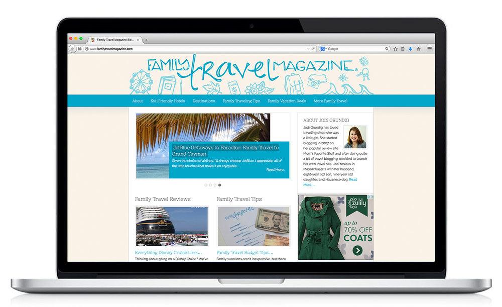 Design: Logo & Branding for Family Travel Magazine | Britt Fabello