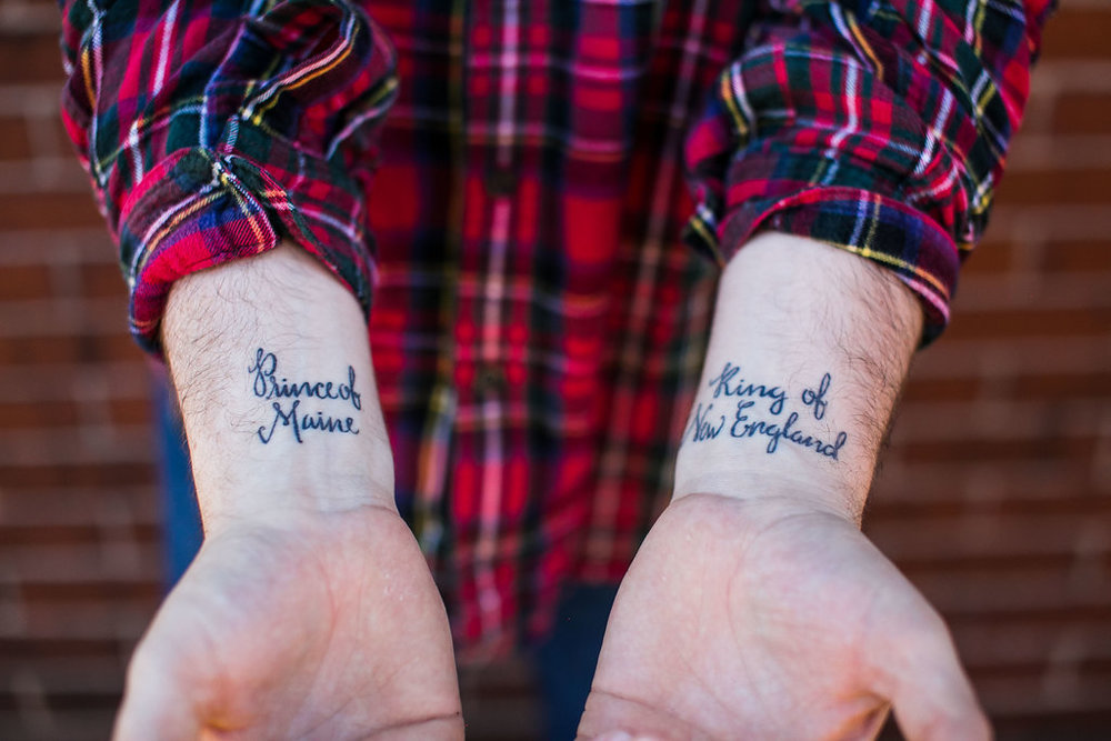 Design: Lettering for Sage's Tattoo | Britt Fabello