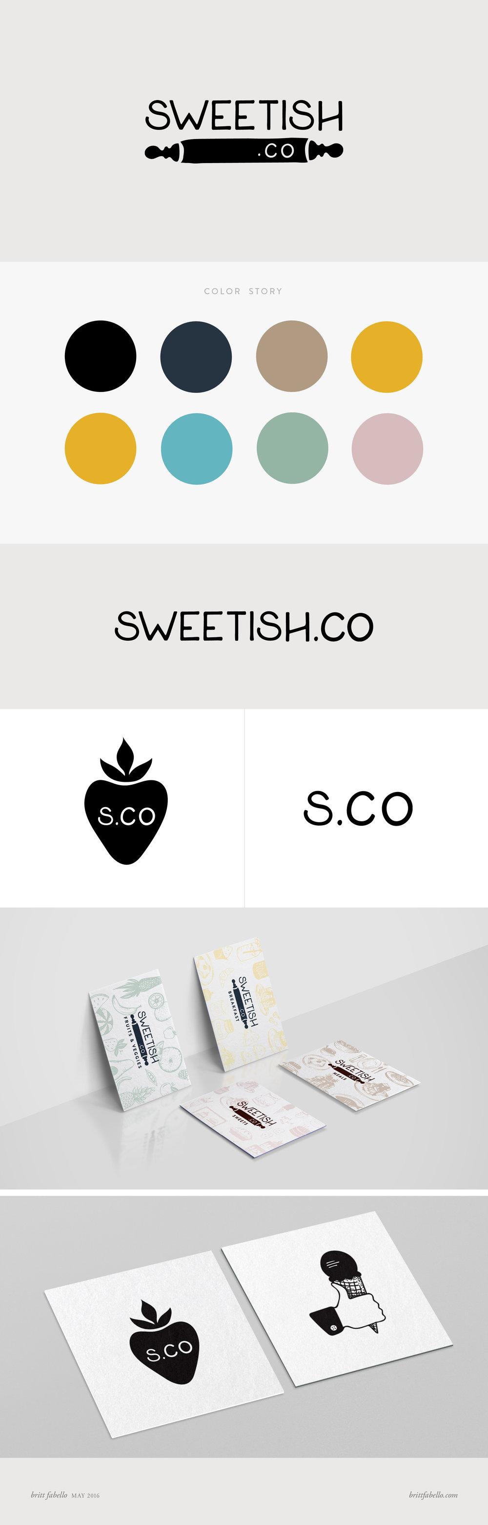 Design: Logo & Branding for Sweetish.Co | Britt Fabello