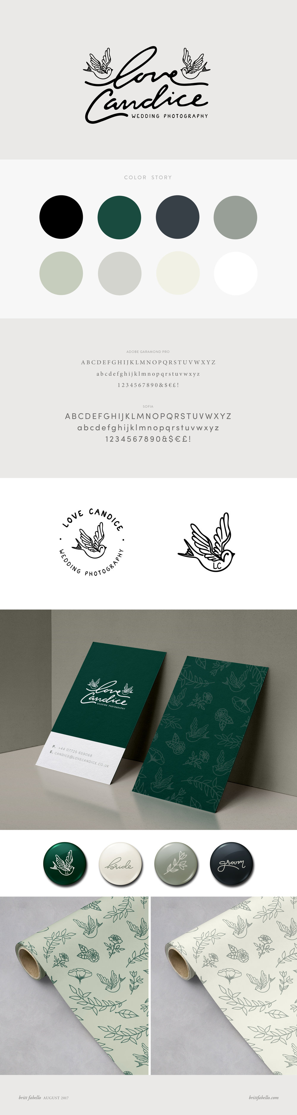 Design: Logo & Branding for Love Candice | Britt Fabello