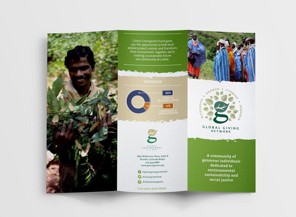 Design: Global Giving Network Brochure | Britt Fabello