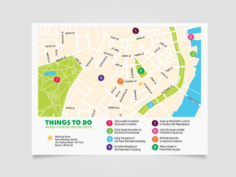 Design: Oxfam's Boston Walking Map | Britt Fabello