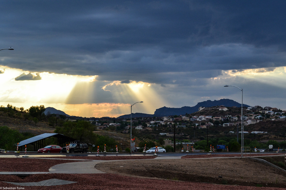Rain Clouds in Prescott, Arizona