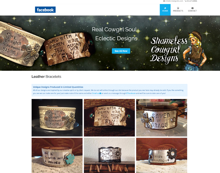 www.shamelesscowgirldesigns.com