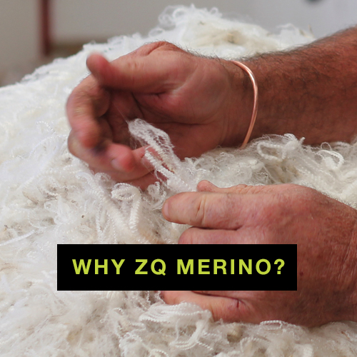 More than just a brand, ZQ Merino fibre is hand-selected and backed by integrity and the story of its origin.