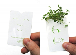 Bloomin' Designer's Business Card, designed by Jamie Wieck