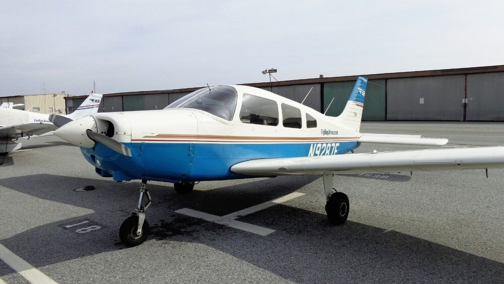 Piper PA28-161 - N9287E     Non-Member   $165/hr /   Standard   $149/hr /   Premium  $140/hr  Lycoming 160 HP Warrior with KLN94 GPS, dual NAV/COM, economical IFR trainer.