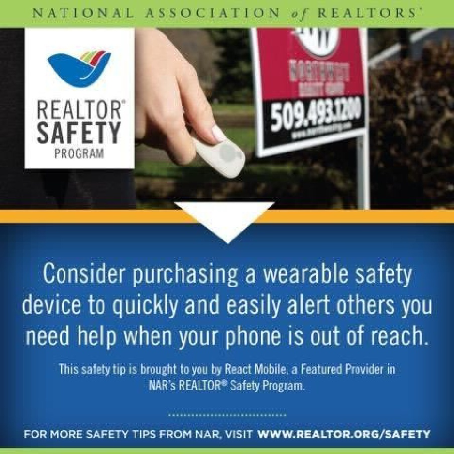 REAL ESTATE, SAFETY, AND YOU!!! - REALTOR® Safety . . . protect you, your family, and your clients . . . click above for more safety tips . . . how safe are you?