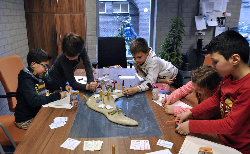 Ontwikkelsessies op basisschool de Opbouw,Eindhoven, 2013