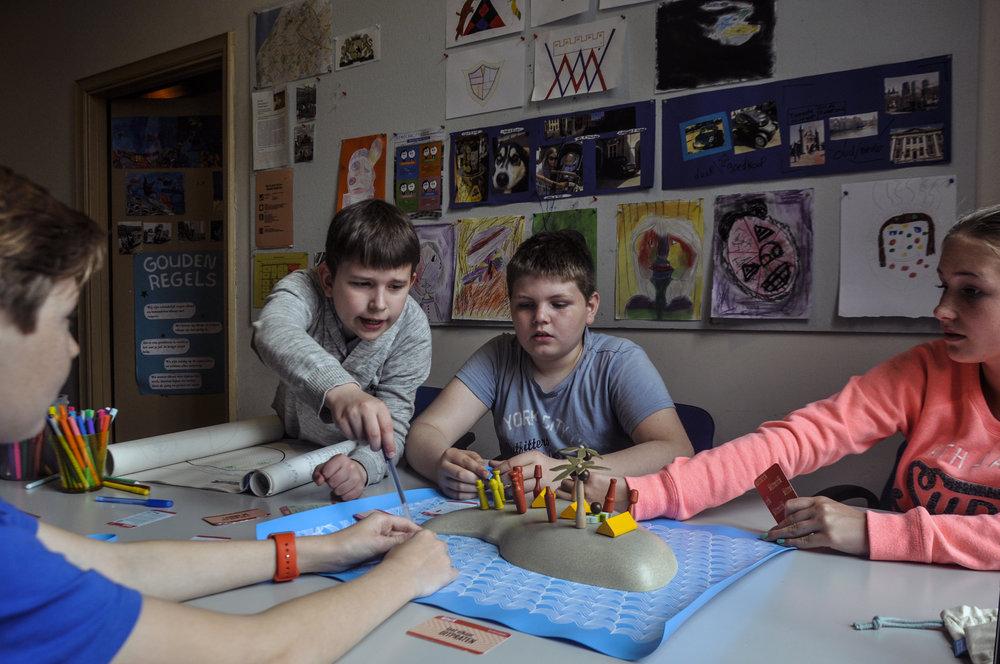 Terra Nova op basisschool Winford Den Haag, 2016