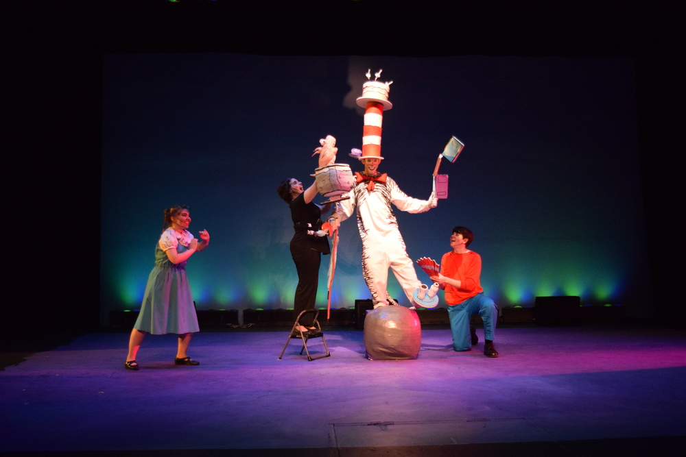 Cat in the Hat   (Cat)     Shawnee Theatre 2015   [  Photographed by Melissa Gilbert]