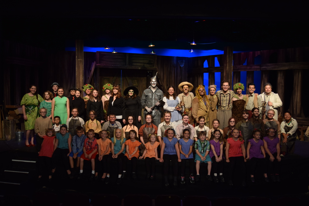 Wizard of Oz  (Scarecrow) Shawnee Theatre 2015 [Photographed by Melissa Gilbert]