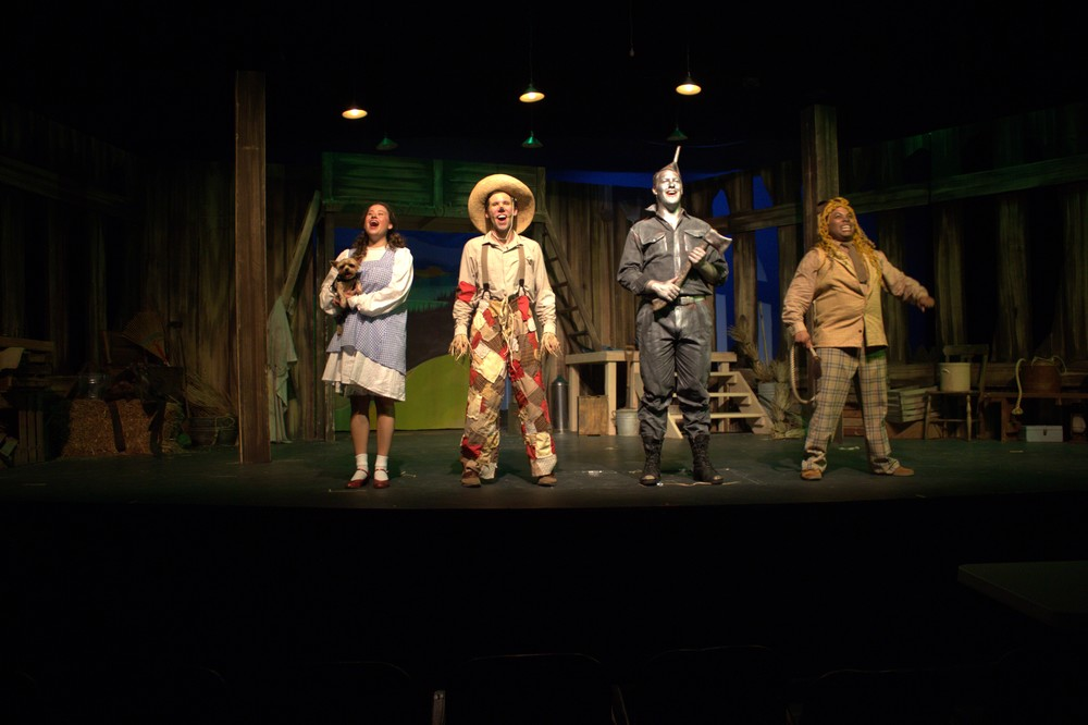 Wizard of Oz   (Scarecrow)     Shawnee Theatre 2015   [  Photographed by Melissa Gilbert]