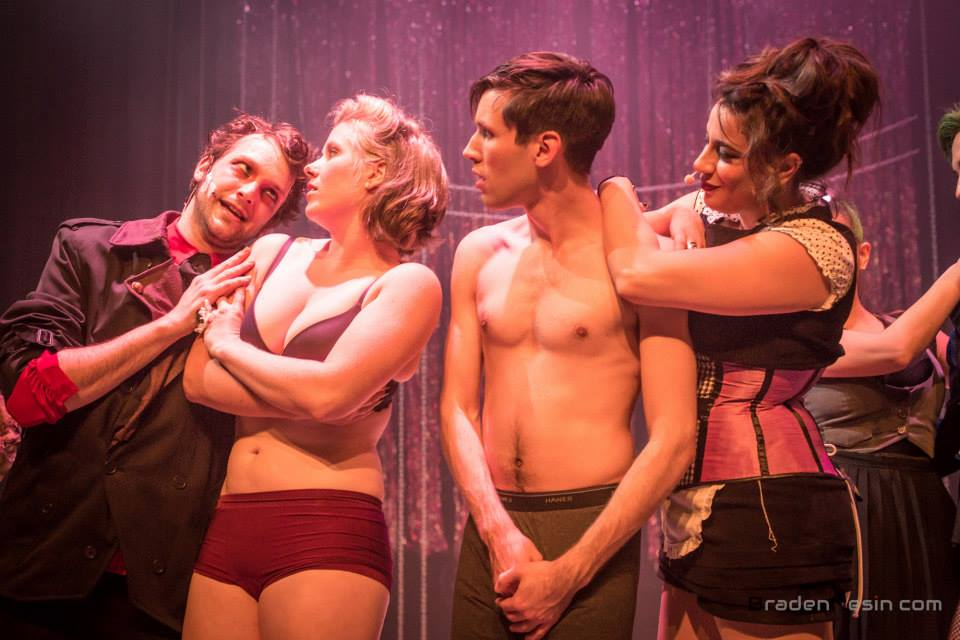 Rocky Horror Show   (Brad Majors) Underscore Theatre [Pho  tographed by Braden Nesin]