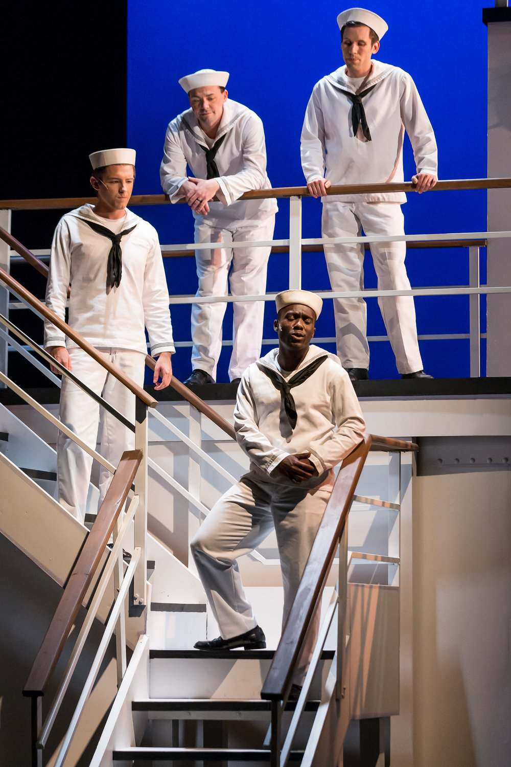 "Sailor Quartet in ""Anything Goes"" with Music Theater Works 2018"