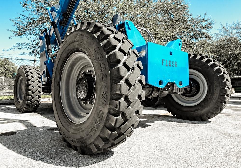 New Loader Tires
