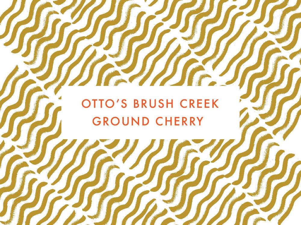 Otto's Brush Creek