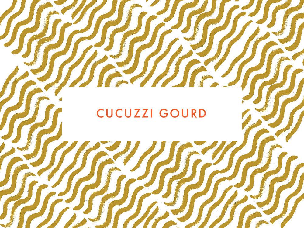Cucuzzi Gourd