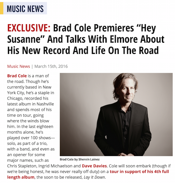 Read Full Interview With Brad Here