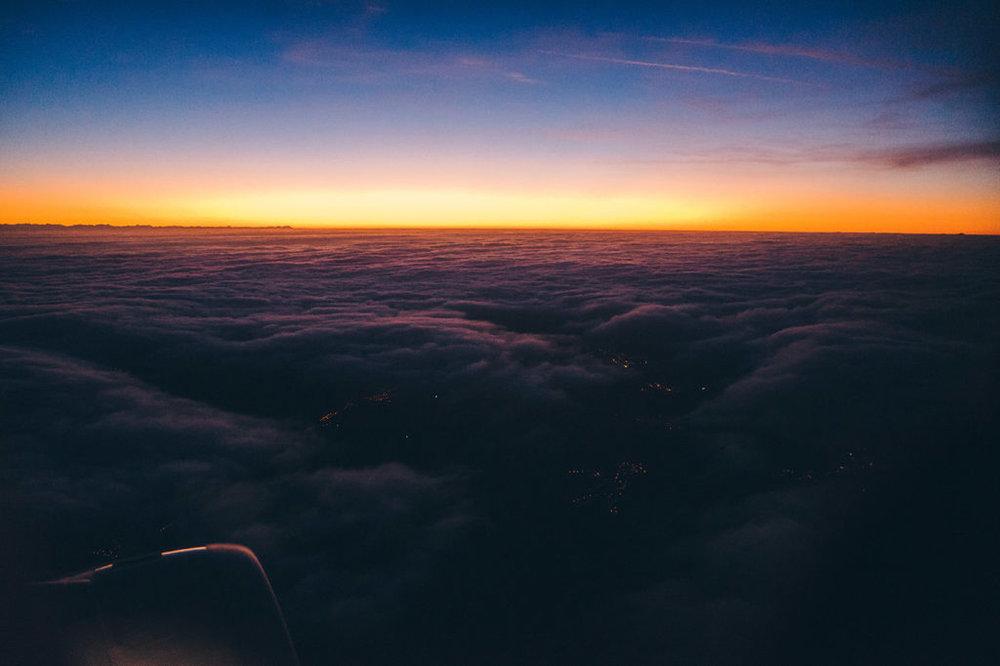float-levity-blog-sunset