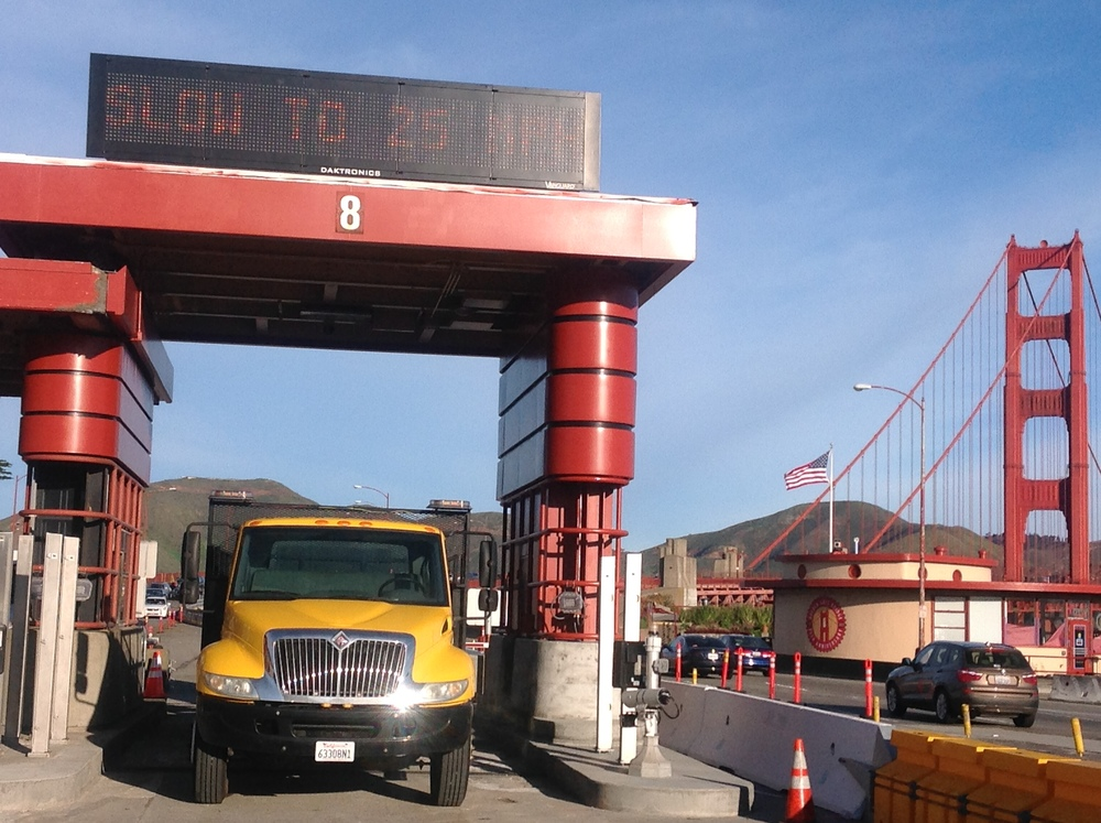 Golden Gate Bridge Toll Booth Addition San Francisco Ca