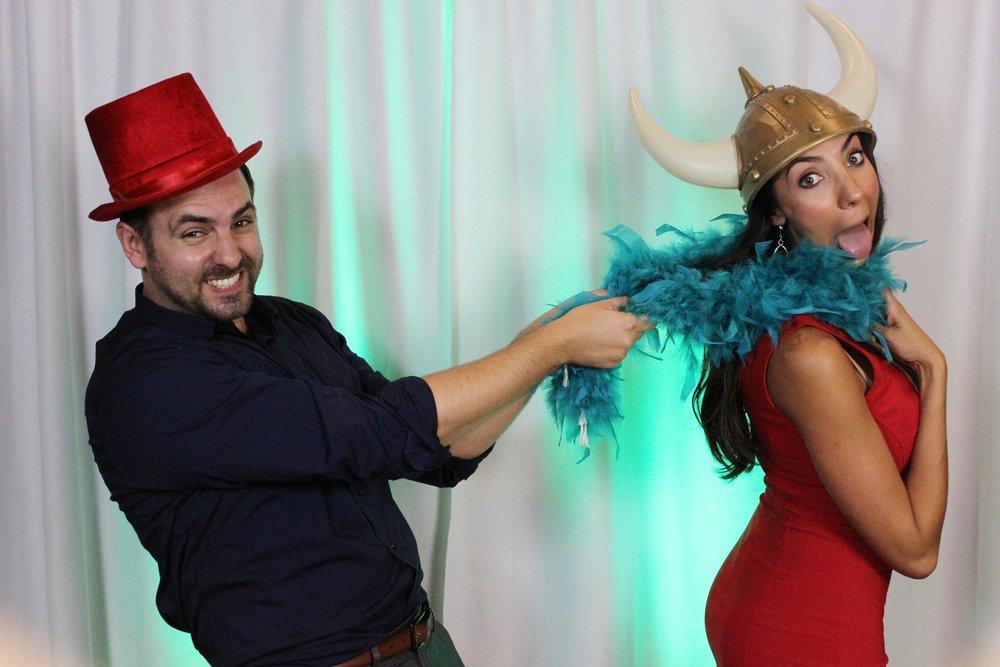 Wedding Photo Booth Fun