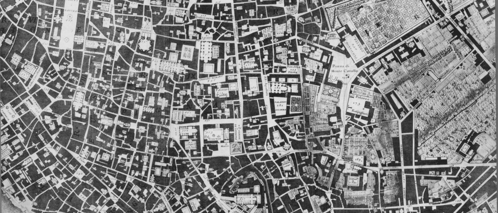 Nolli Tax Map, Rome 1741