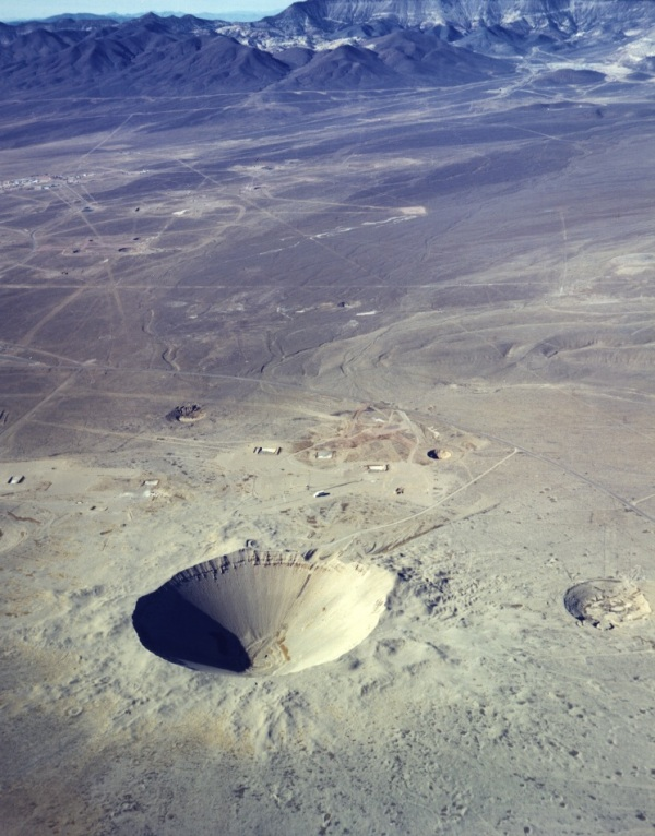 Yucca Flat, and Sedan Crater in particular, are so similar to a moonscape that Apollo astronauts actually trained here.