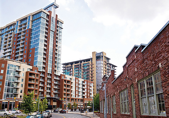 The Gulch, Downtown-area Infill Redevelopment