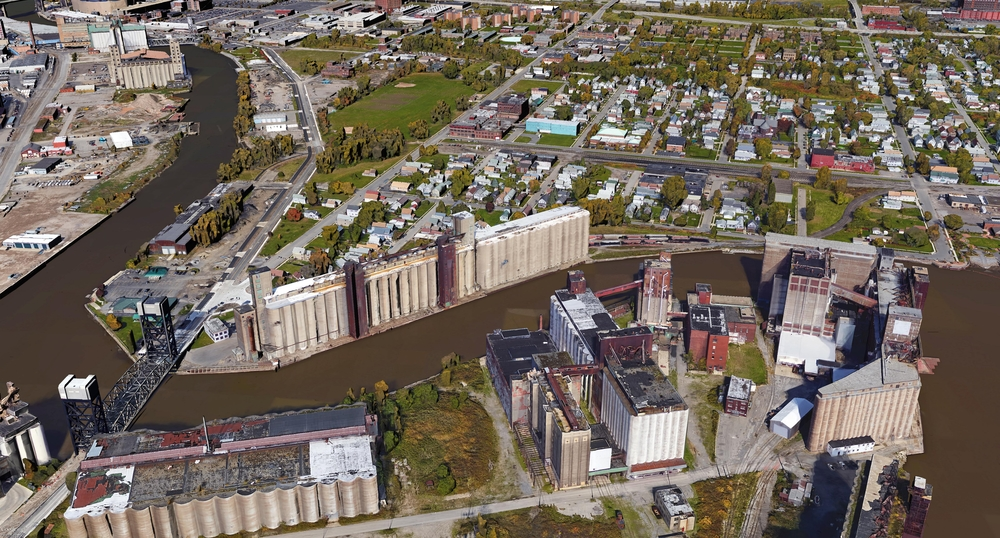 General Mills is in the background next to the bridge. Thanks Google for making Google Earth Pro free.