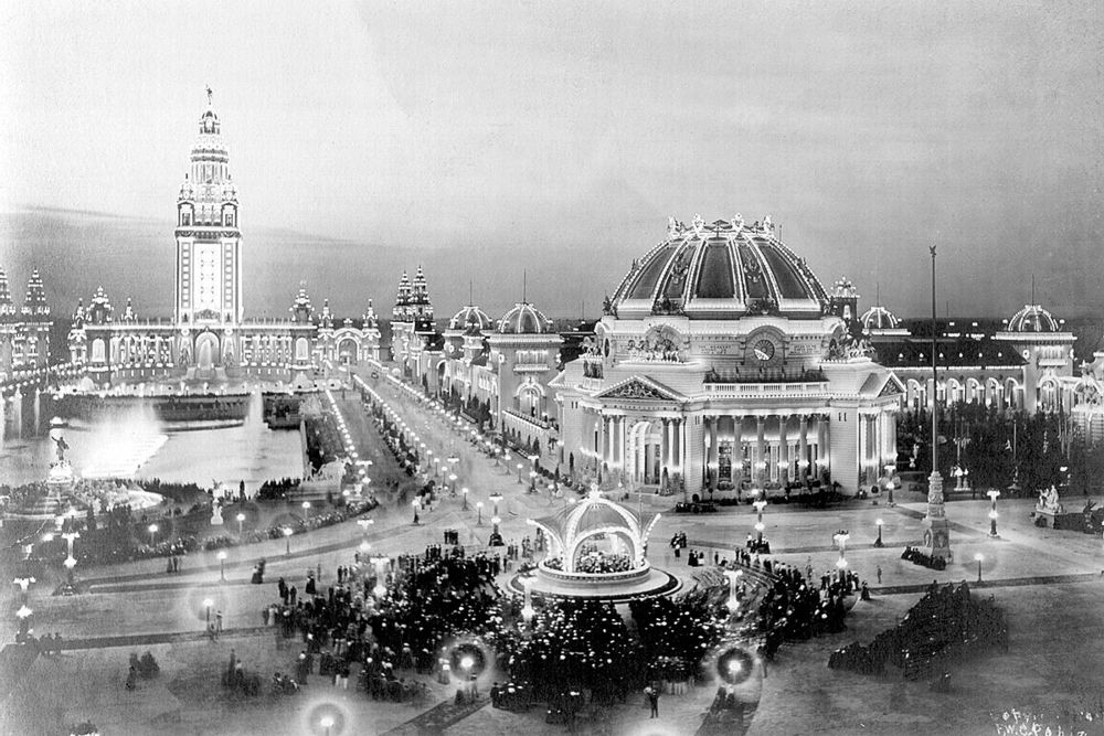 With its access to half the nation's population (40 million) within one day by train, it was chosen to host a World's Fair.