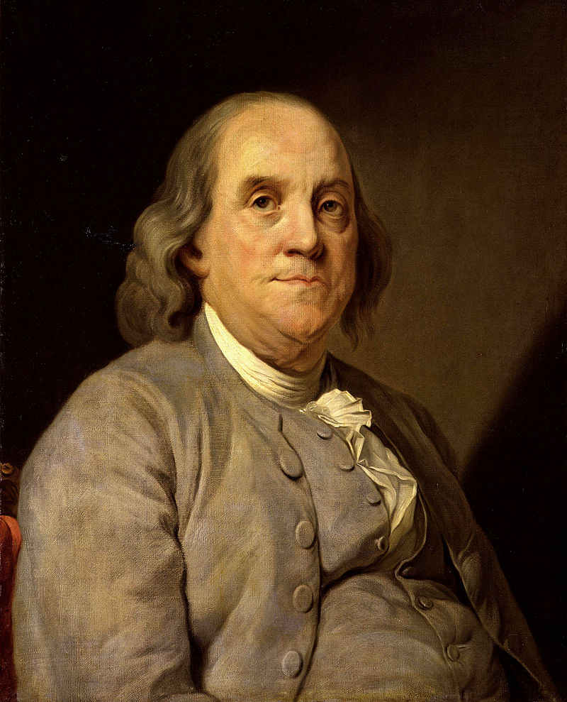 Ironically, Franklin actually wrote this in complaintof the colonial governor's inclination to absolve the Penn family of future taxes if they contributed to frontier security. The liberty which Franklin is talking about is actually the the government's right to taxproperty.