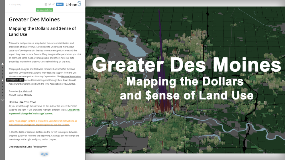 Another little preview of our story map that should be available in the next few days.