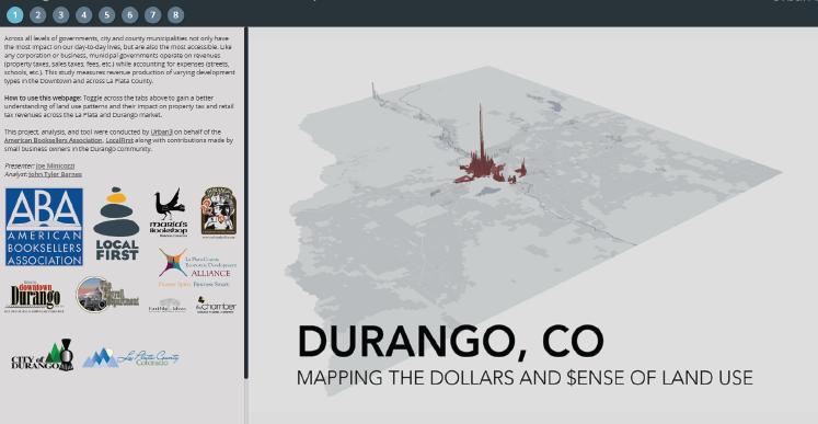 Durango, CO Storymap