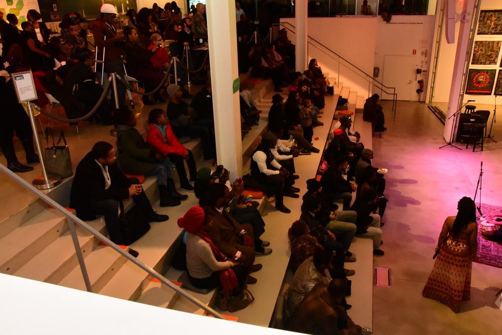 ITAVA Winter Art Showcase: Audience views  Location: Bric House