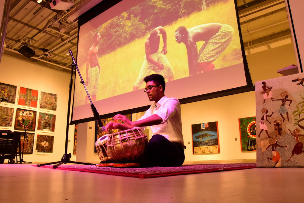 Artist: Sanjoy plays the Tabla along to Nigerian Hits from Wiz Kid featuring Fela Kuti and Olamide.