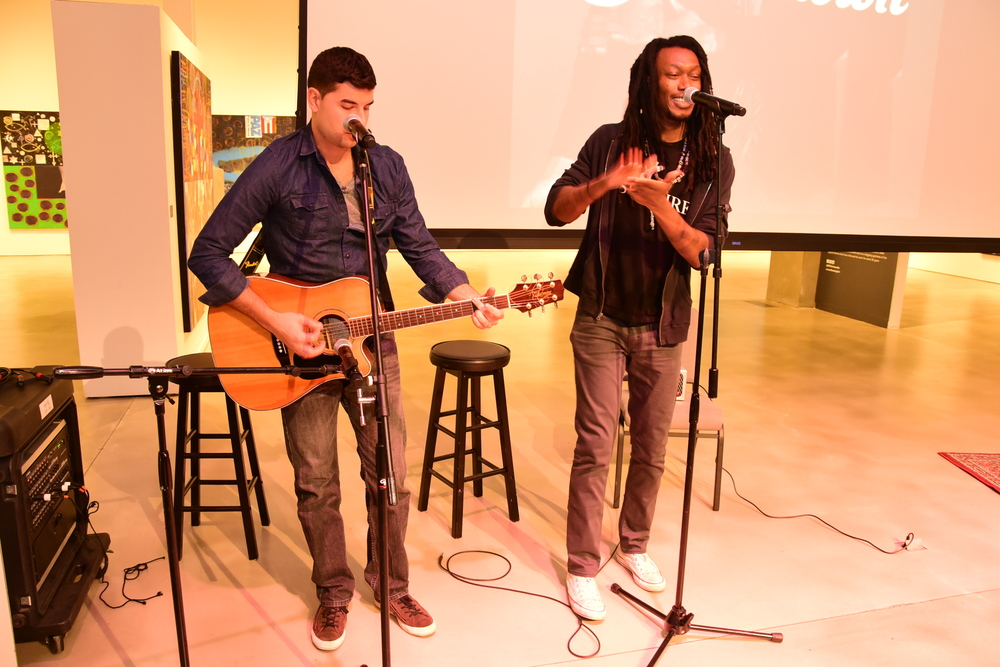 Artist: Kwame Binea blessed us with several songs from the SHAKEDOWN.