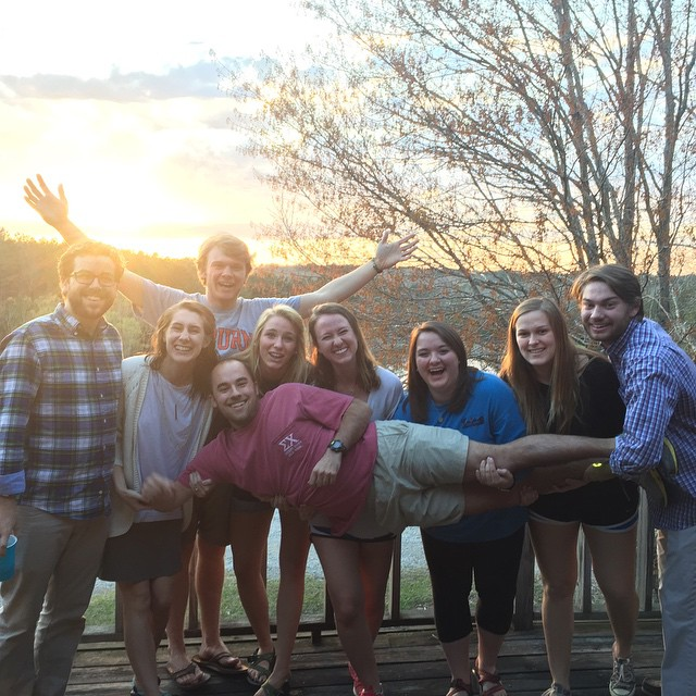 The current LHS Young Life team.