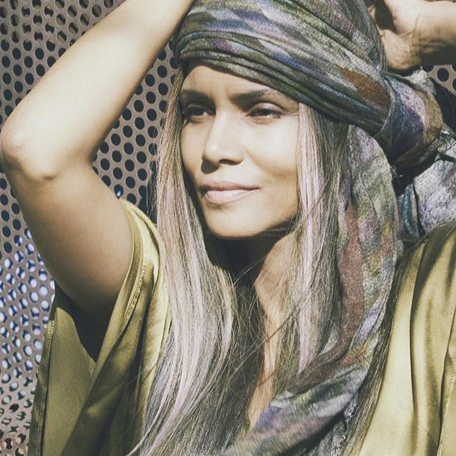 S M O K I N | girl __  This woman, is really beyond. She was born gifted, in so many ways. And we also know, she knows she's a work in progress, always learning, always growing, and constantly humbling herself.  We honor you @halleberry 💛 __  #thisgirlthatgirl #actress #mother