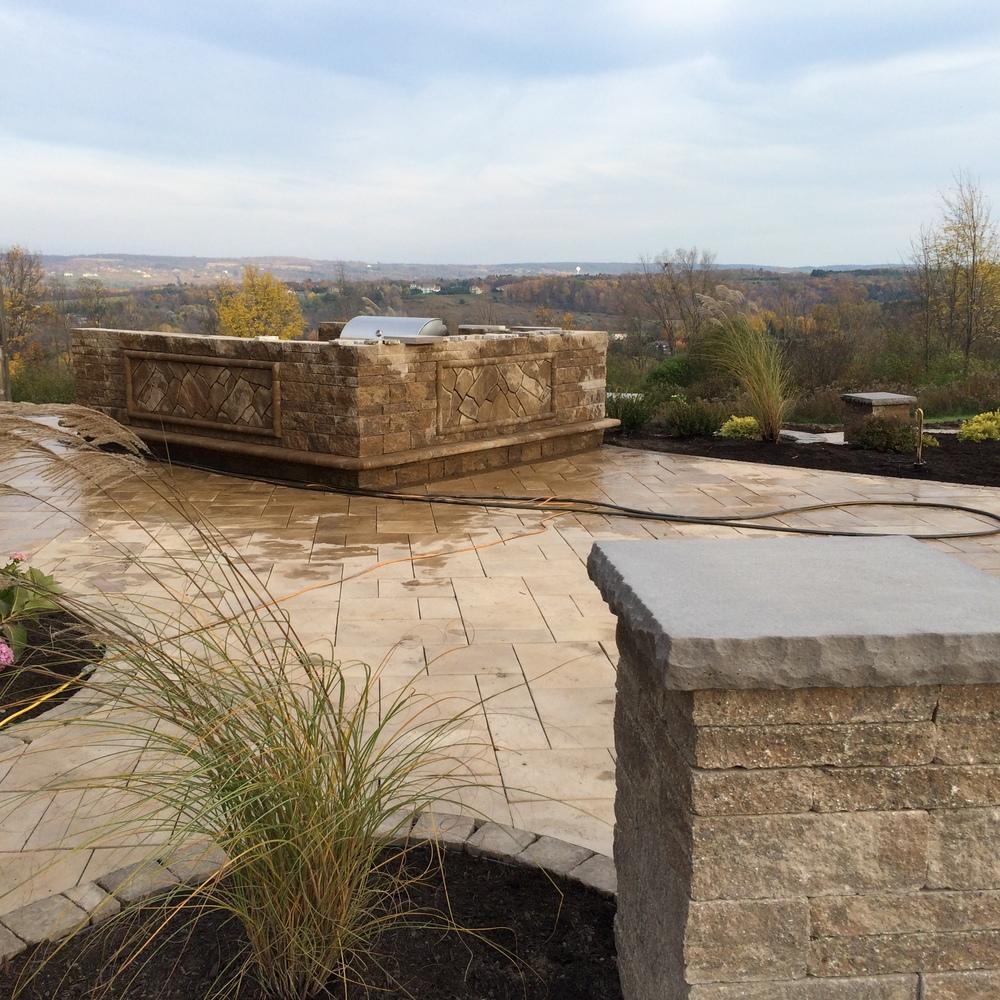 Landscaping Pavers Syracuse Ny : Landscape construction syracuse lightscapes inc
