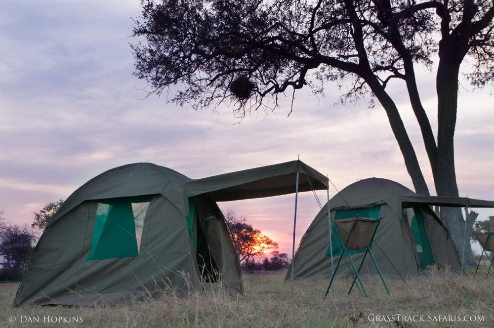 Botswana Campsite