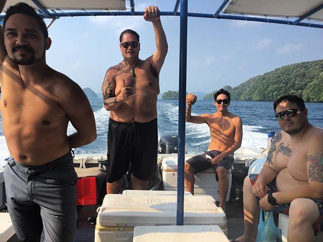 Stroll patrol. #Palau #trenchfest