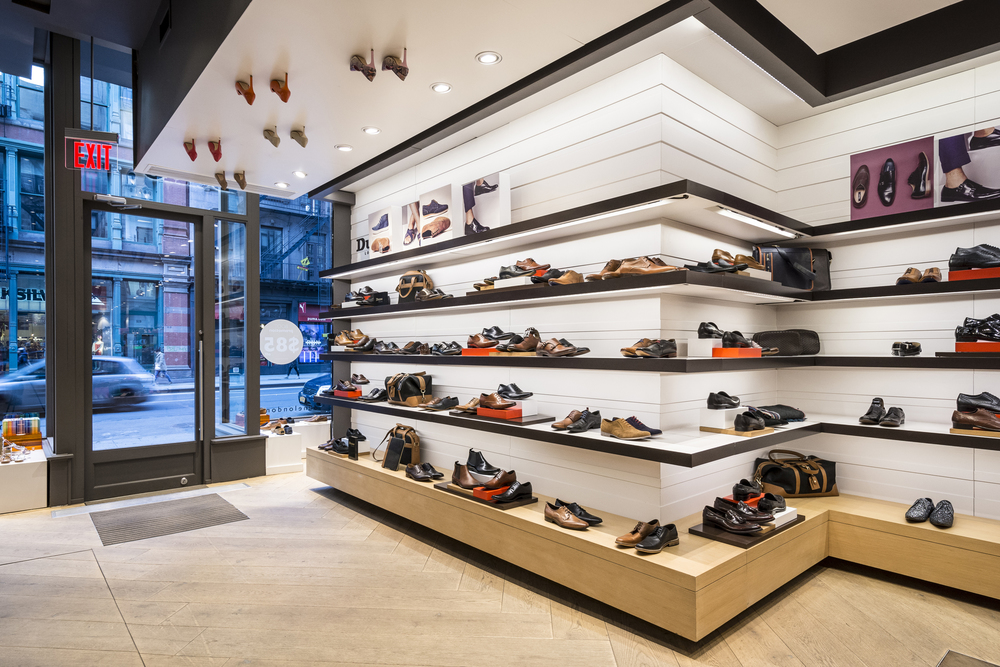 Architectural Photography SOHO Broadway Dune London Shoes