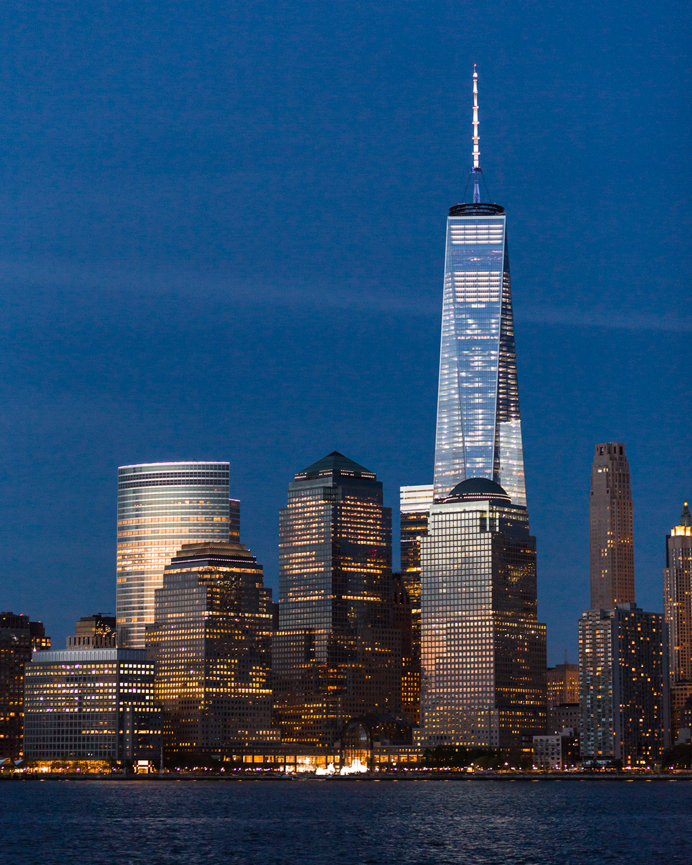 One World Trade Center Twilight