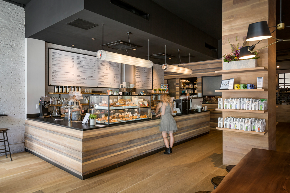 Commercial Architectural Photography - Irving Farm Coffee Roasters