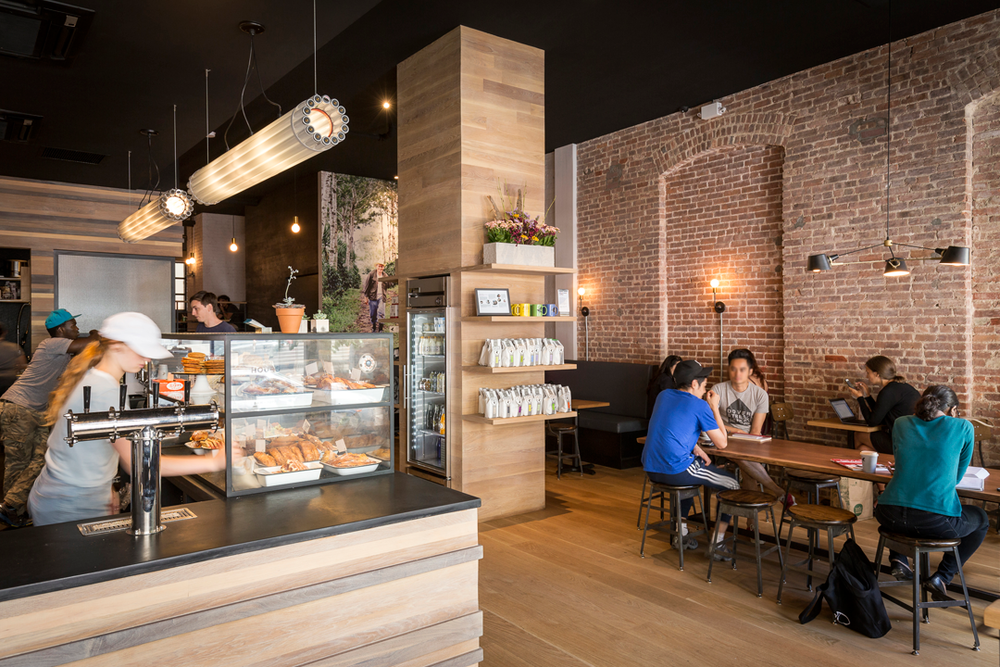Architectural Photography Upper East Side Irving Farm Coffee Roasters