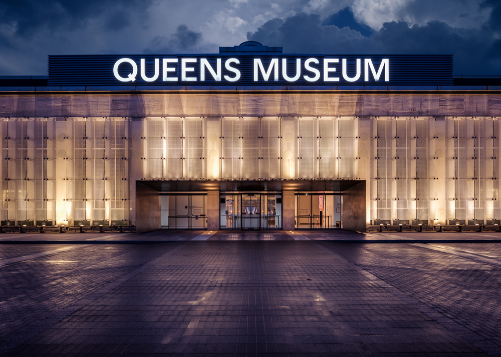 Queens Museum at Night