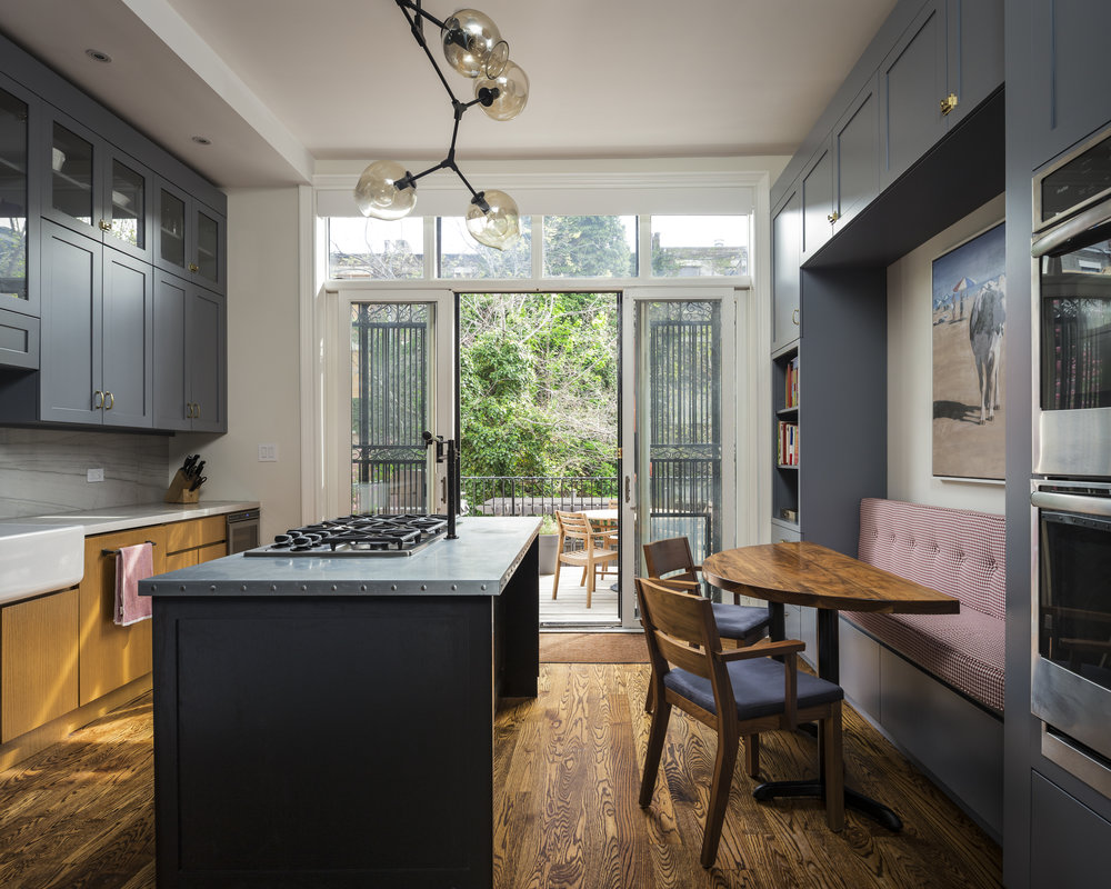 Harlem Townhouse Kitchen