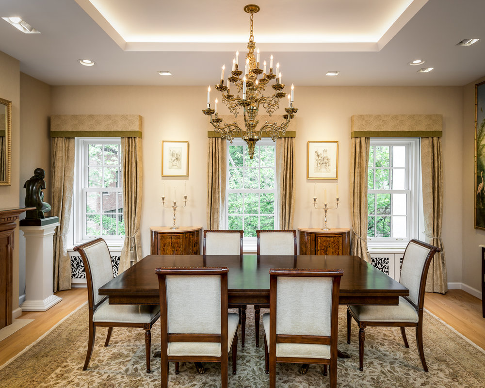 Greenwich Village Townhouse Dining Area