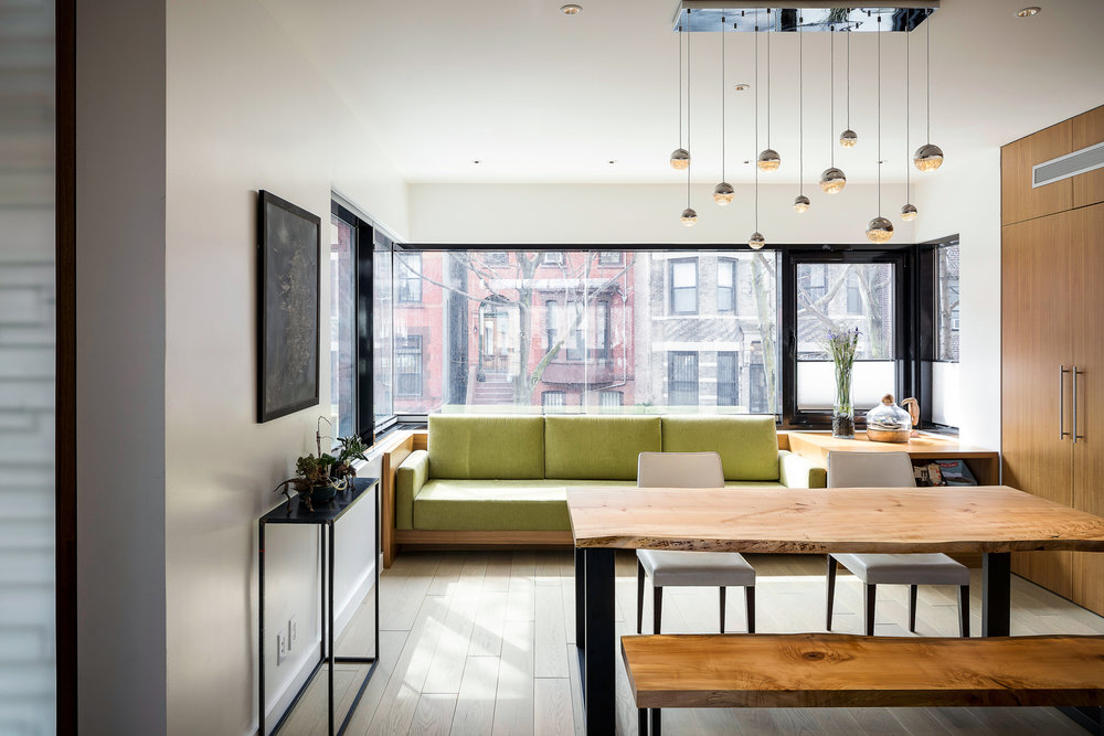 Park Slope Townhouse Dining Area